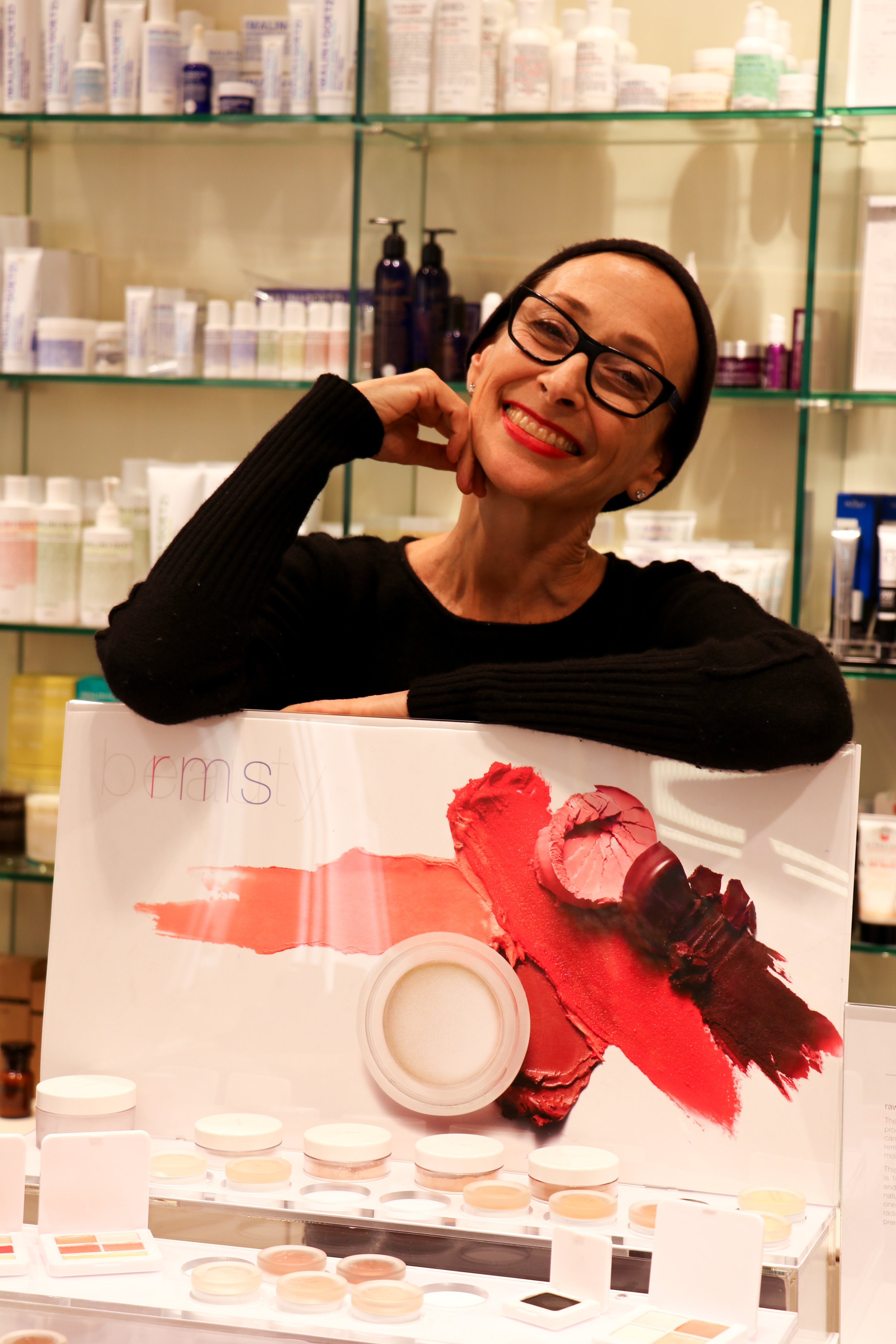 RMS Beauty founder; Rose-Marie Swift