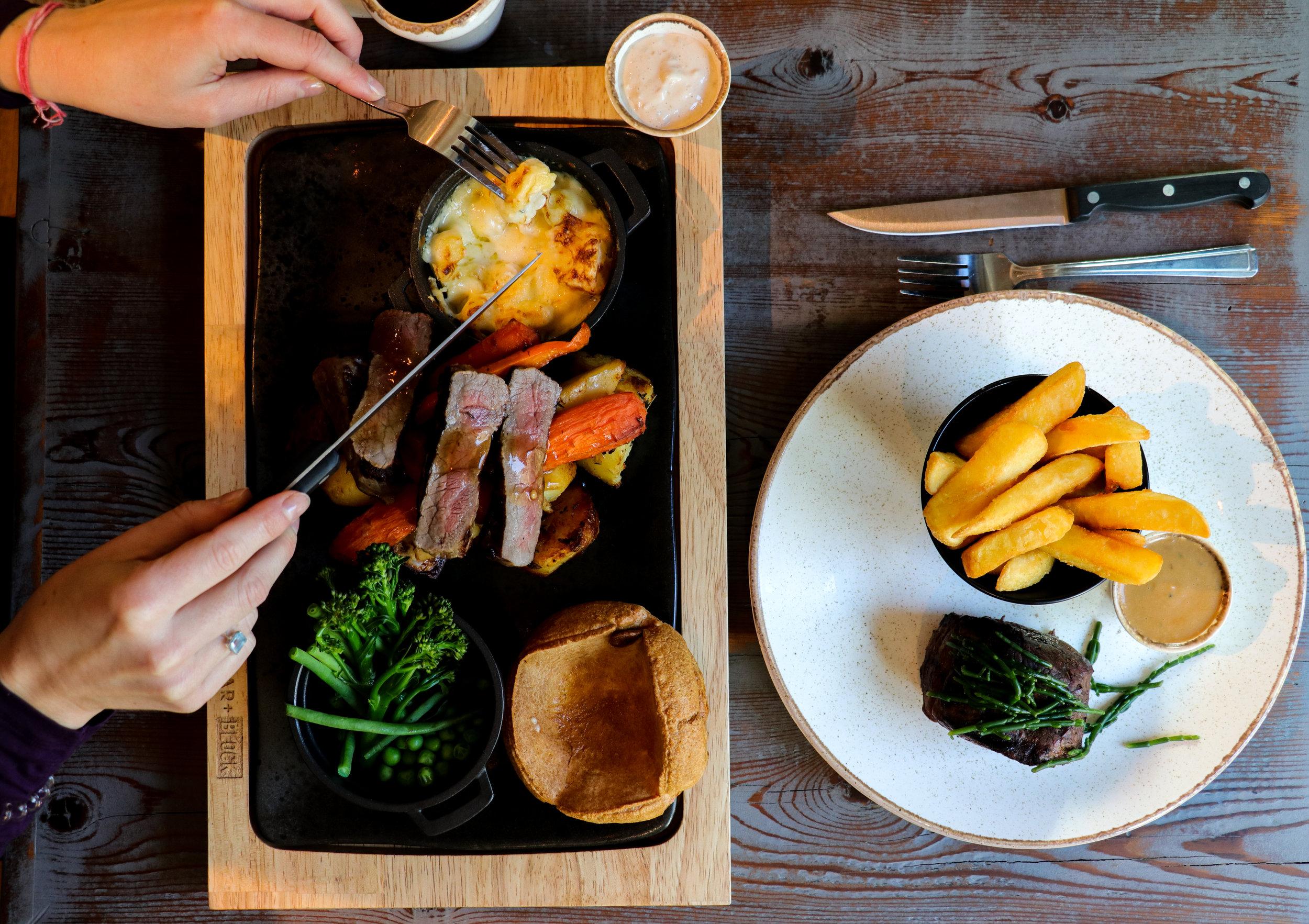Bar + Block Steakhouse - Bath - 14th November 2017