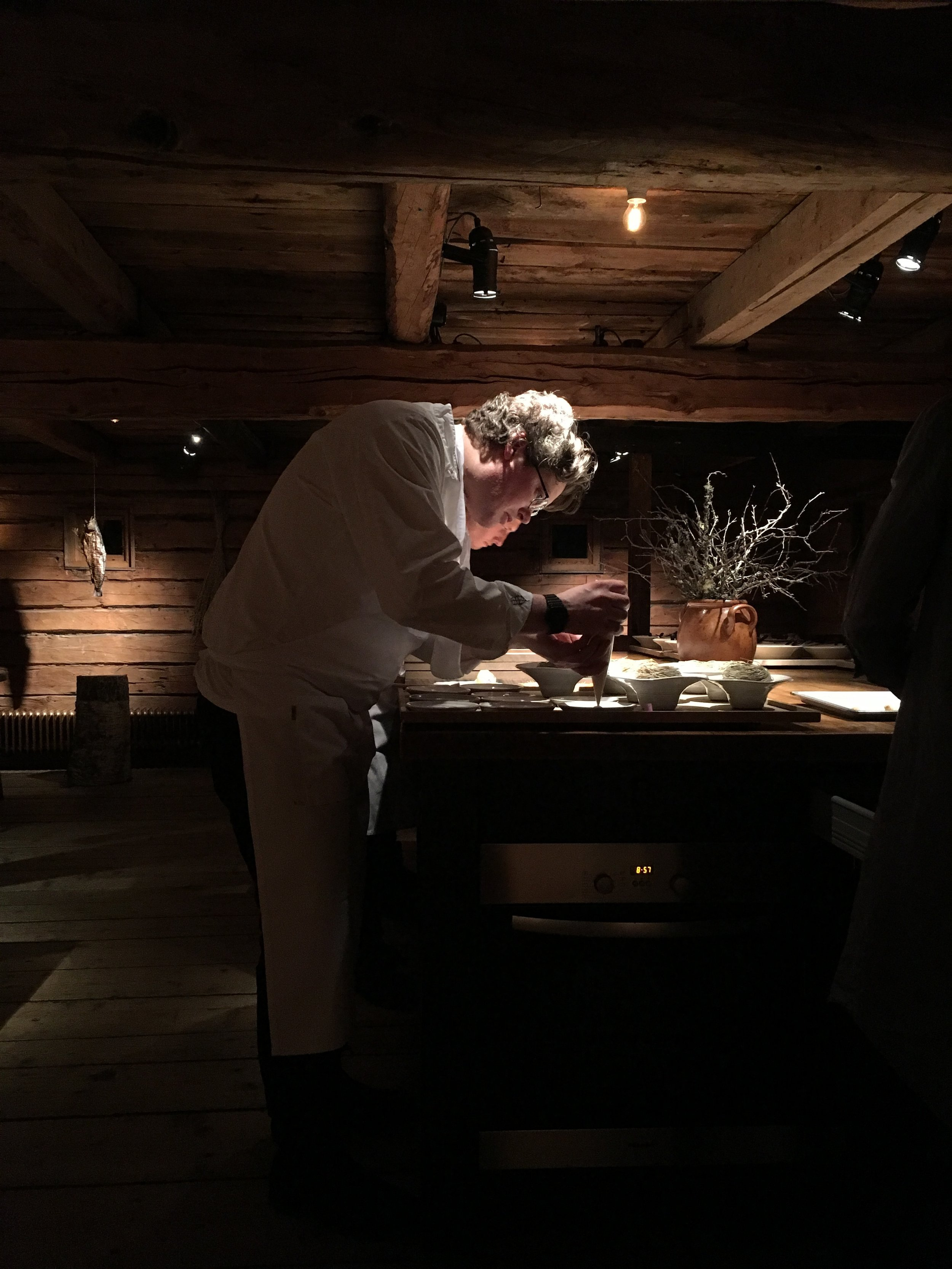 Dining at Faviken - Sweden - 5th February 2016