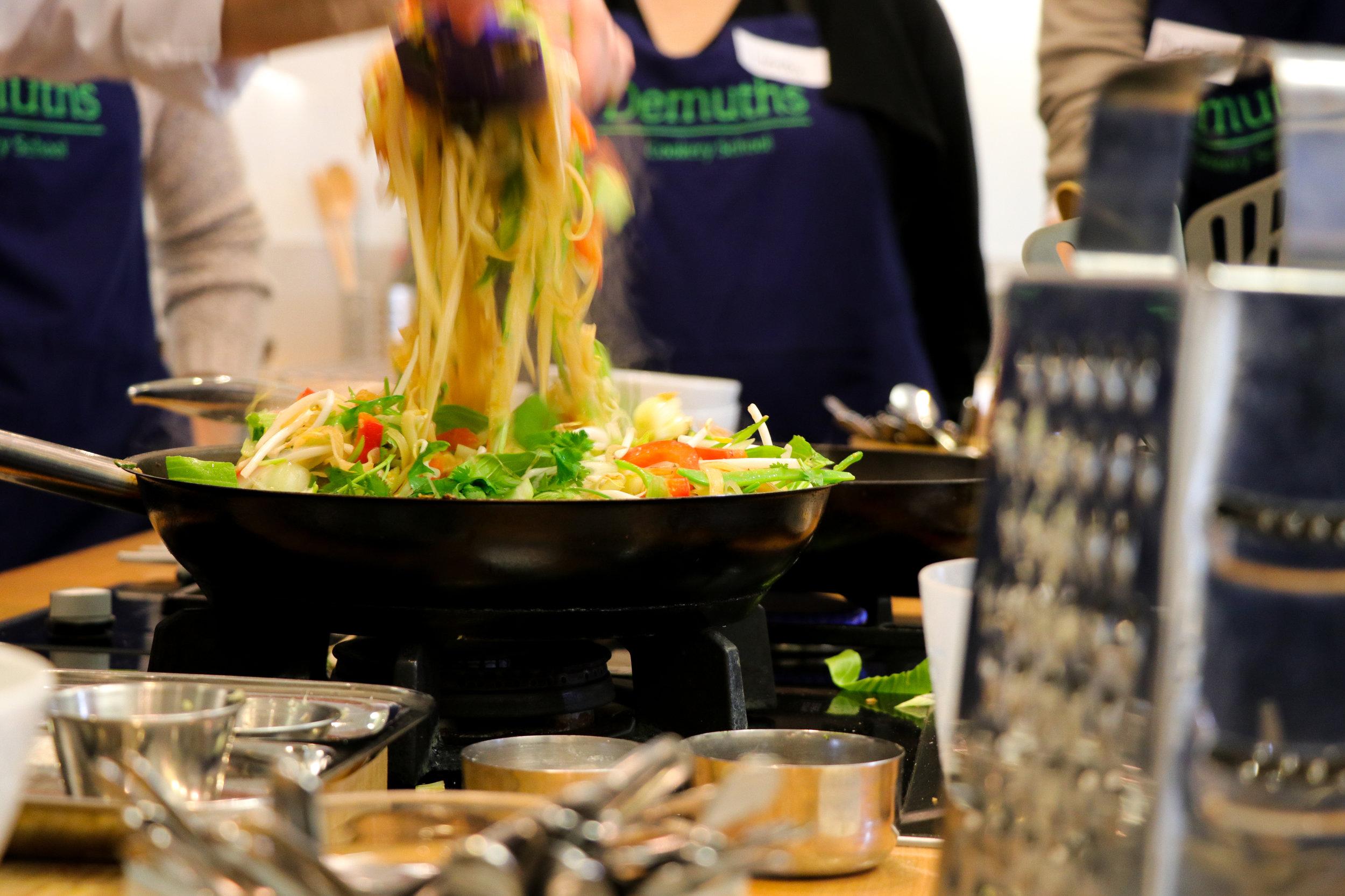 Demuths Cookery School - Bath - 22nd February 2018