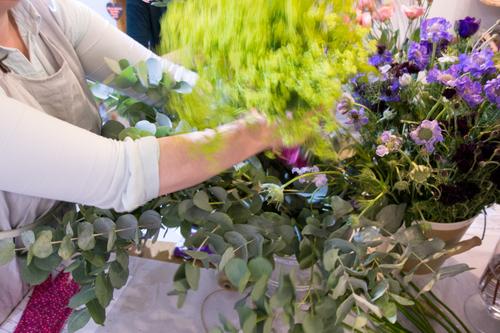 Flower Workshop at Article - Bath - 7th December 2015