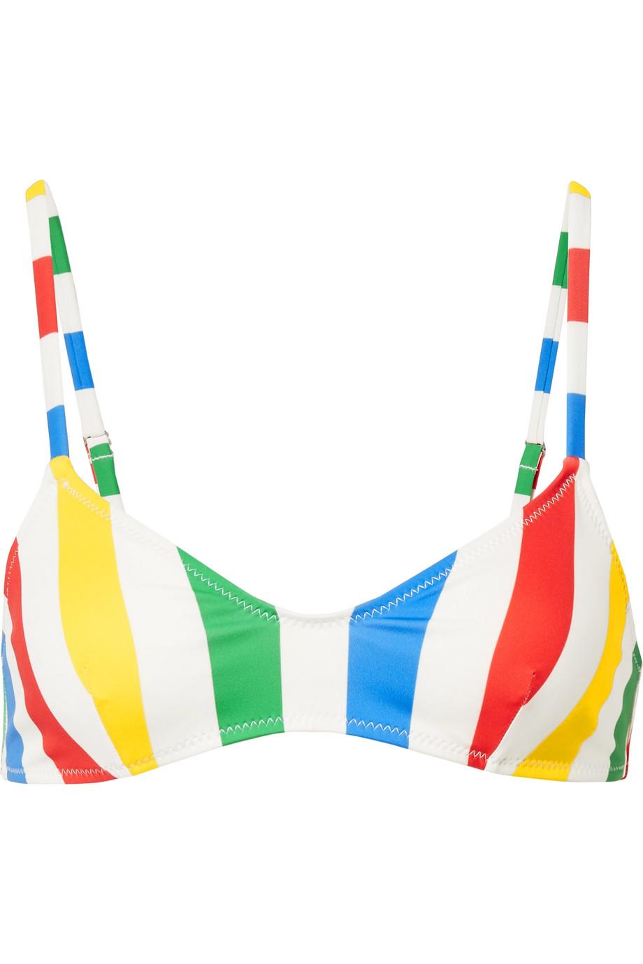 Solid & Striped (via Net-A-Porter) The Rachel Striped Bikini Top