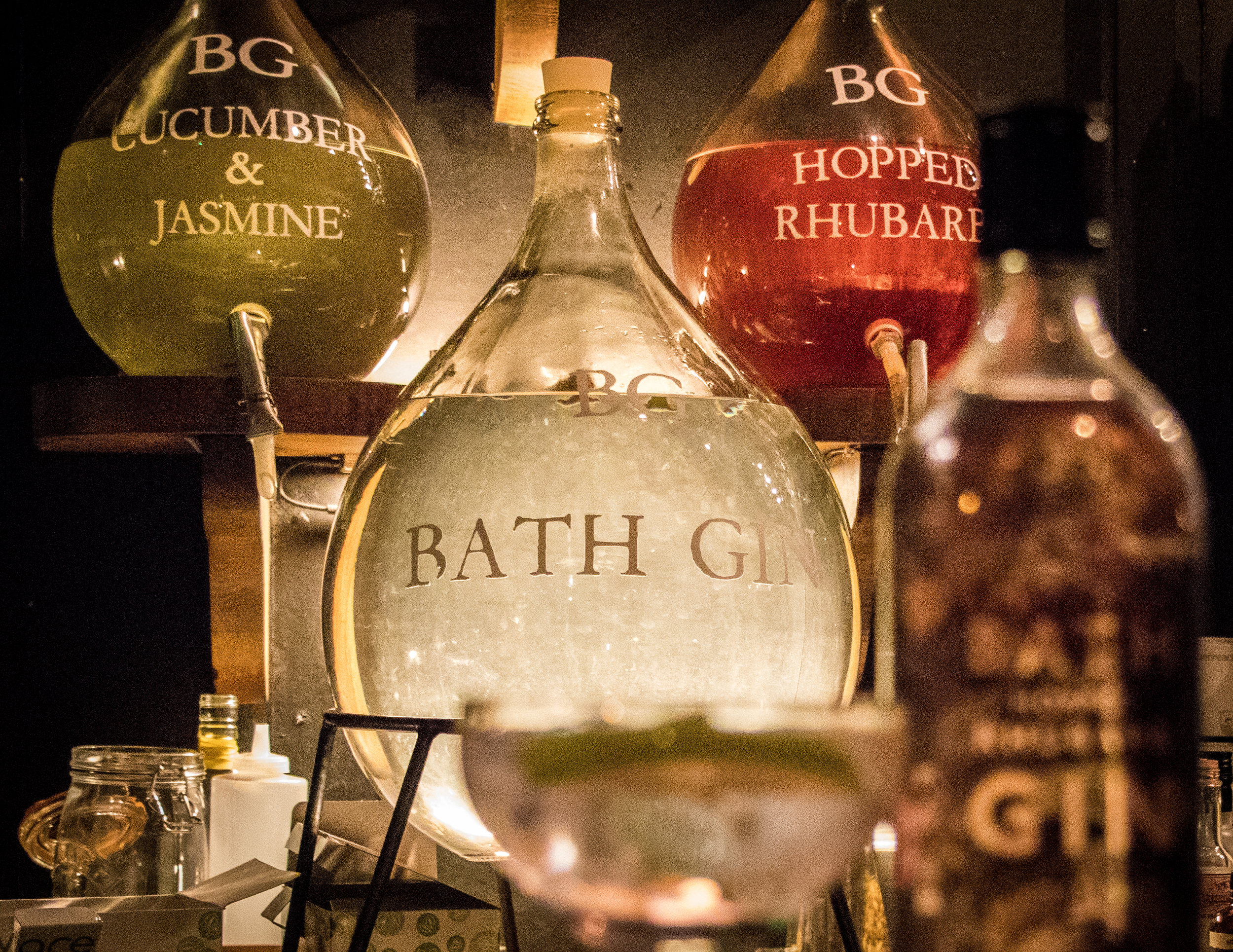The Canary Gin Bar Bath