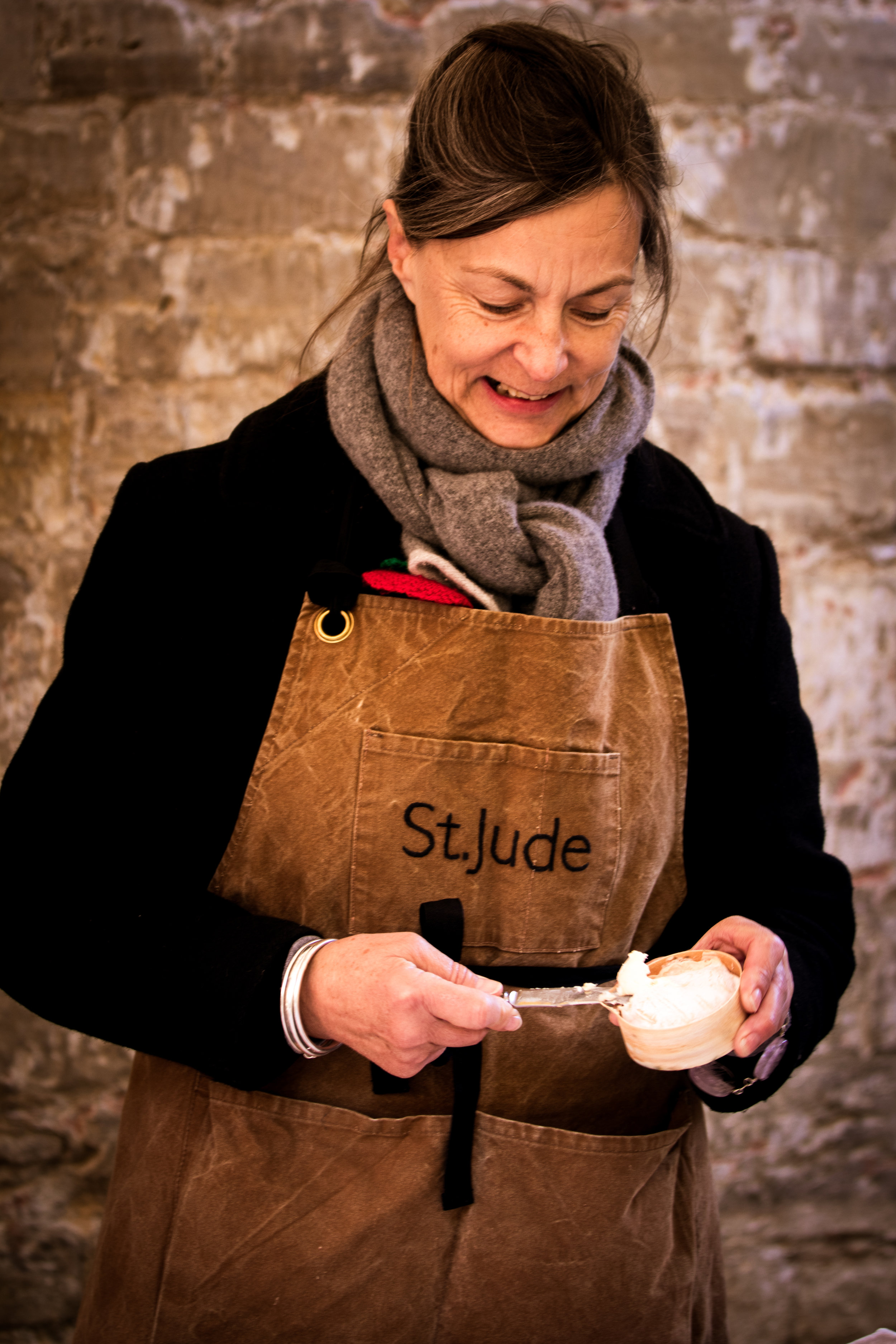 St.Jude    -  A French St. Marcellin-style cheese made by Julie Cheyney in Suffolk from raw milk.