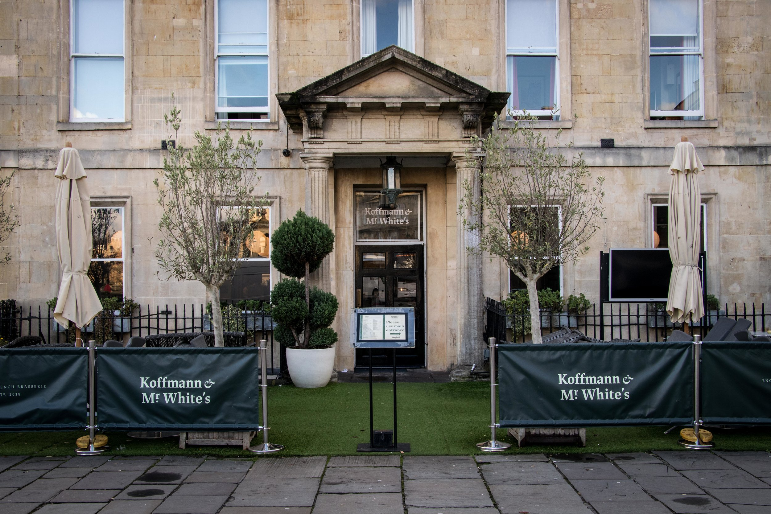 Koffmann & Mr. White's - Abbey Hotel Bath