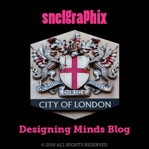 Coat of arms of the City of London Corporation as seen on the entrance of City Thameslink. Author – Christoph Braun.. •  Wikimedia Commons