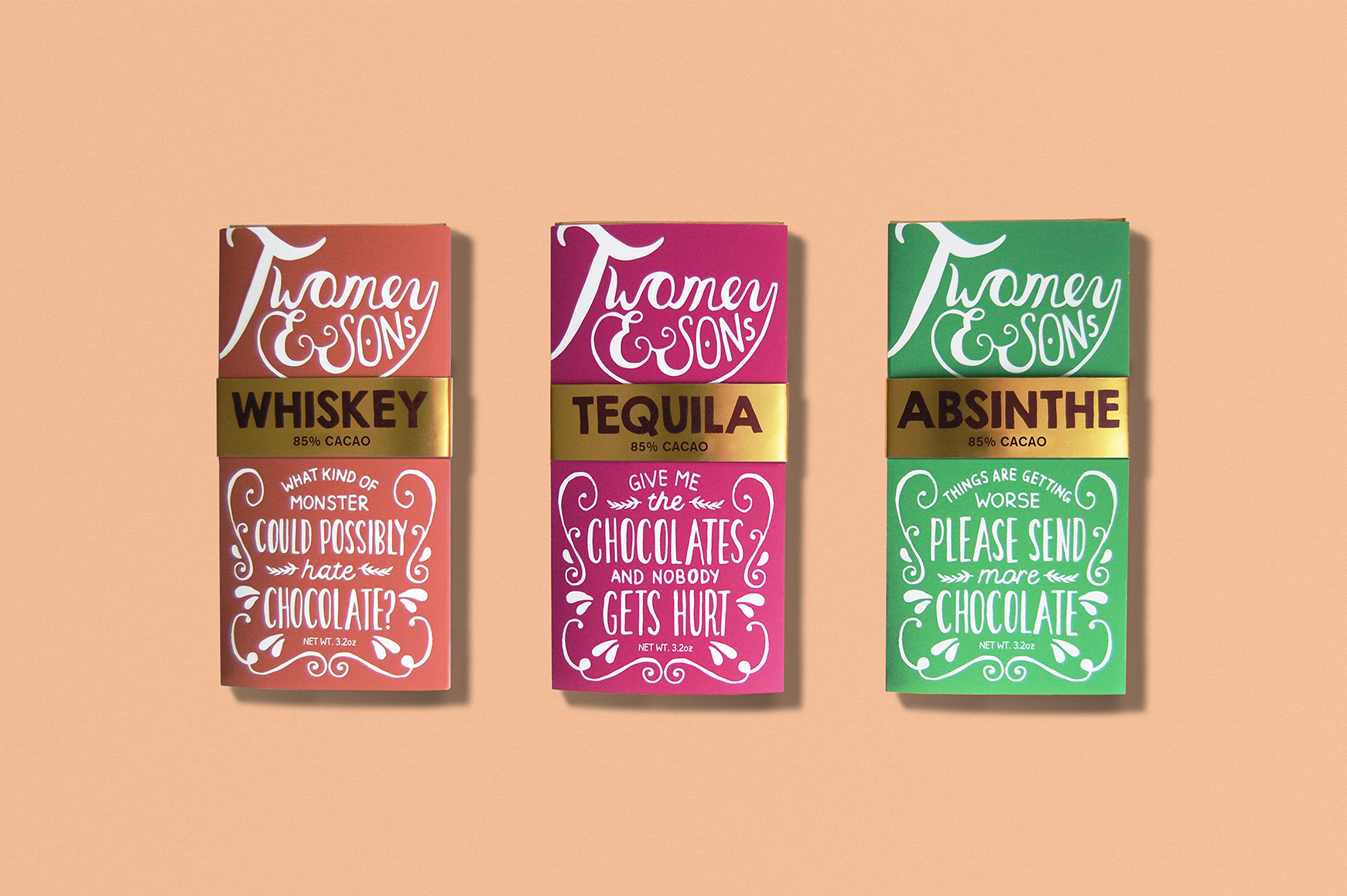 TWOMEY & SONS CHOCOLATE BARS