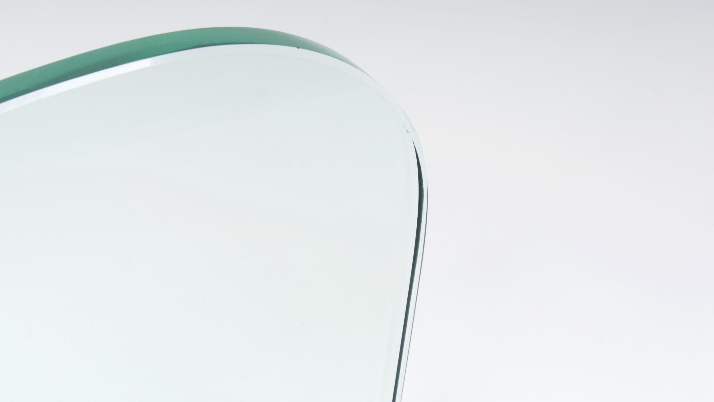 FONTANA ARTE ASYMETRIC GLASS WALL CONSOLE 6