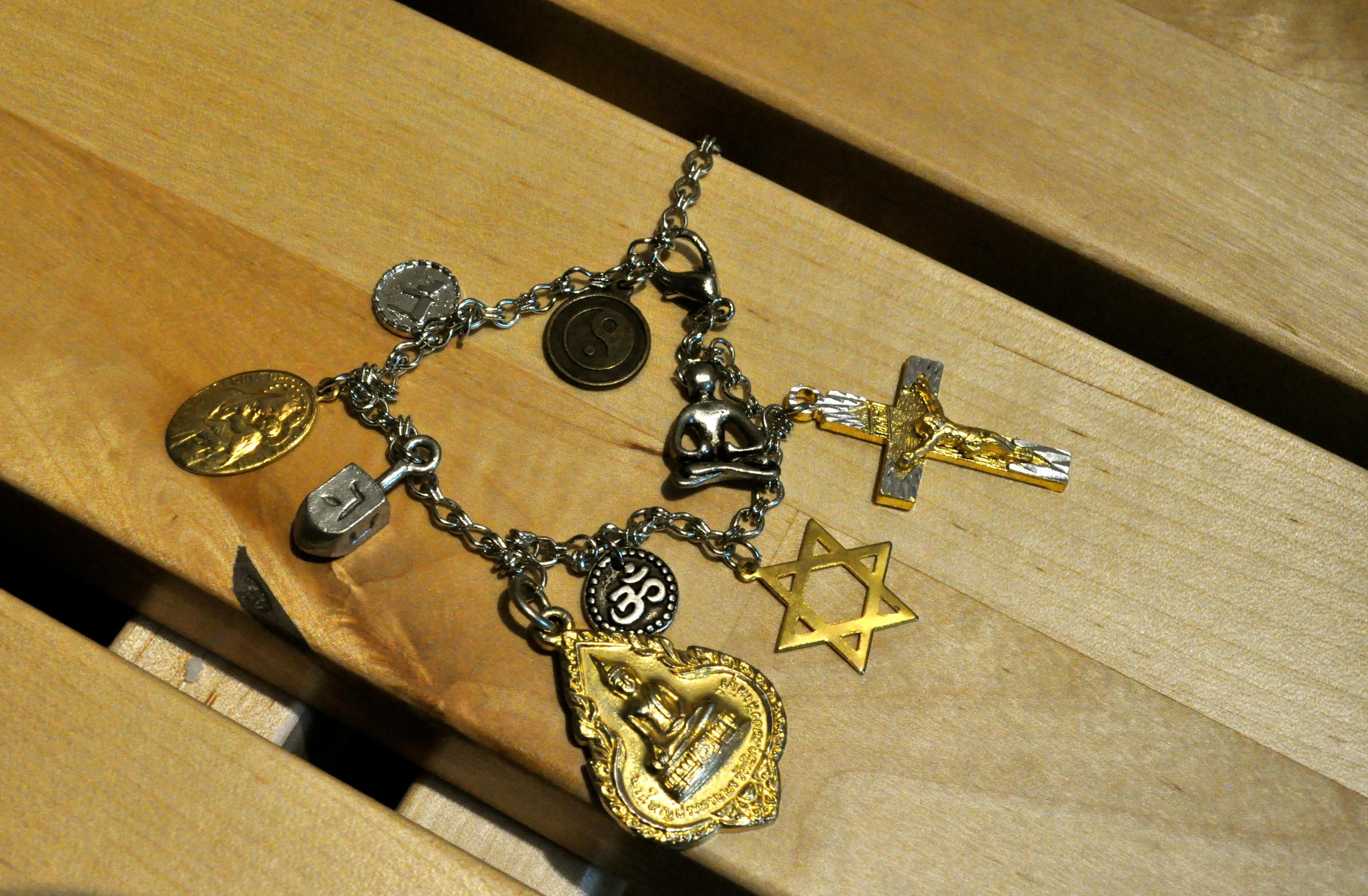 All-Religions Charm Bracelet