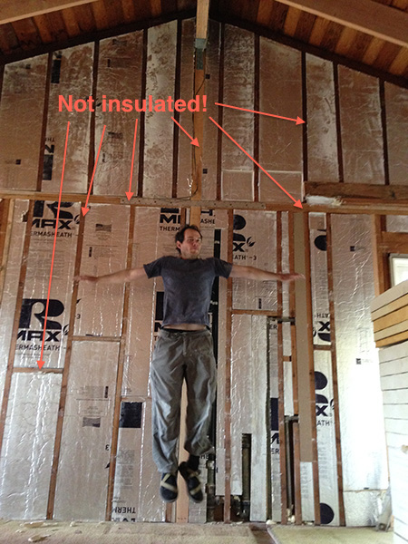 How We Turned Our House into a Giant Foam Box, Part I — Wall