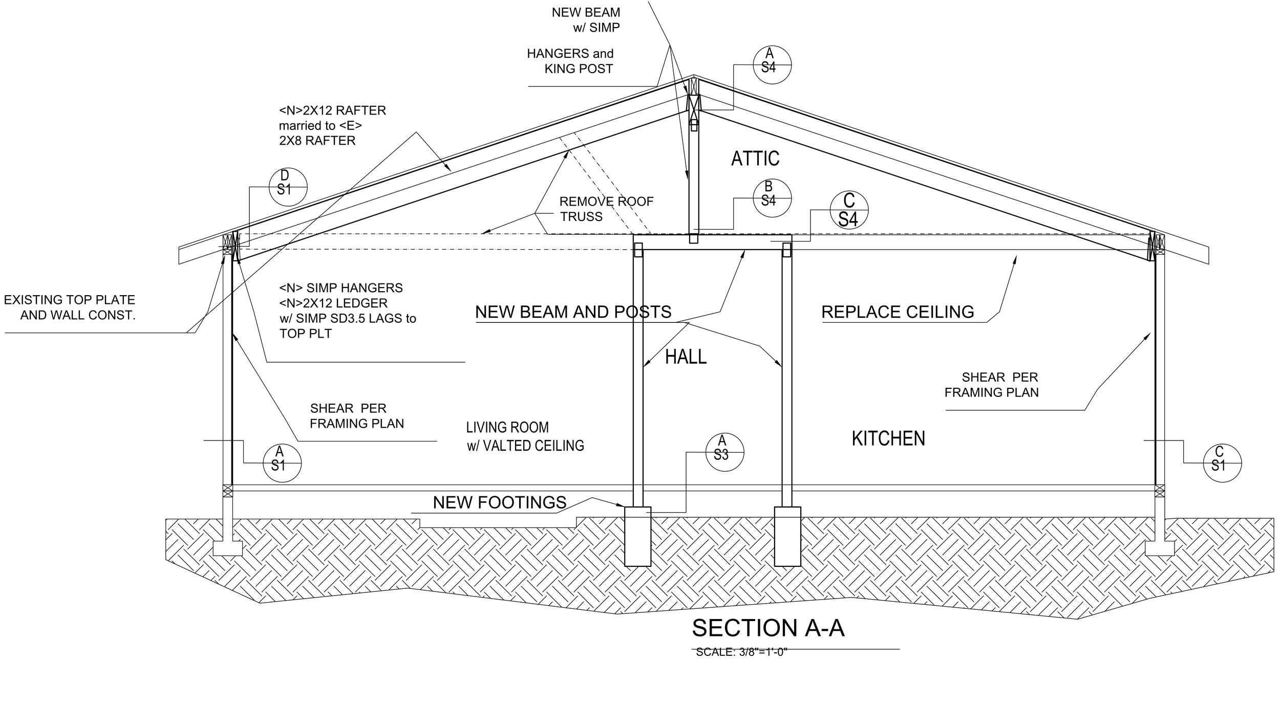 Vaulting The Ceiling Part I Plans And Permits Frugal Happy