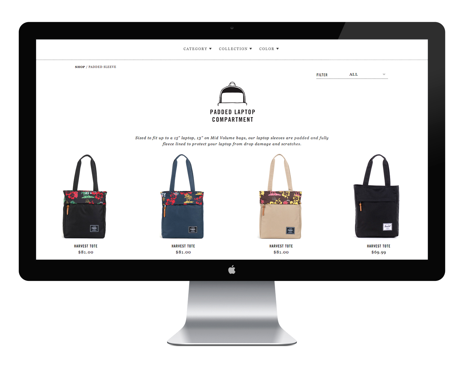Problem : the user was confused by the huge product offering. There were 700 skus on the website without effective filtering or sorting options.   Solution : We organized the products into collections, added robust filters and included feature icons on the product page so the user could quickly determine if the product fit their needs.