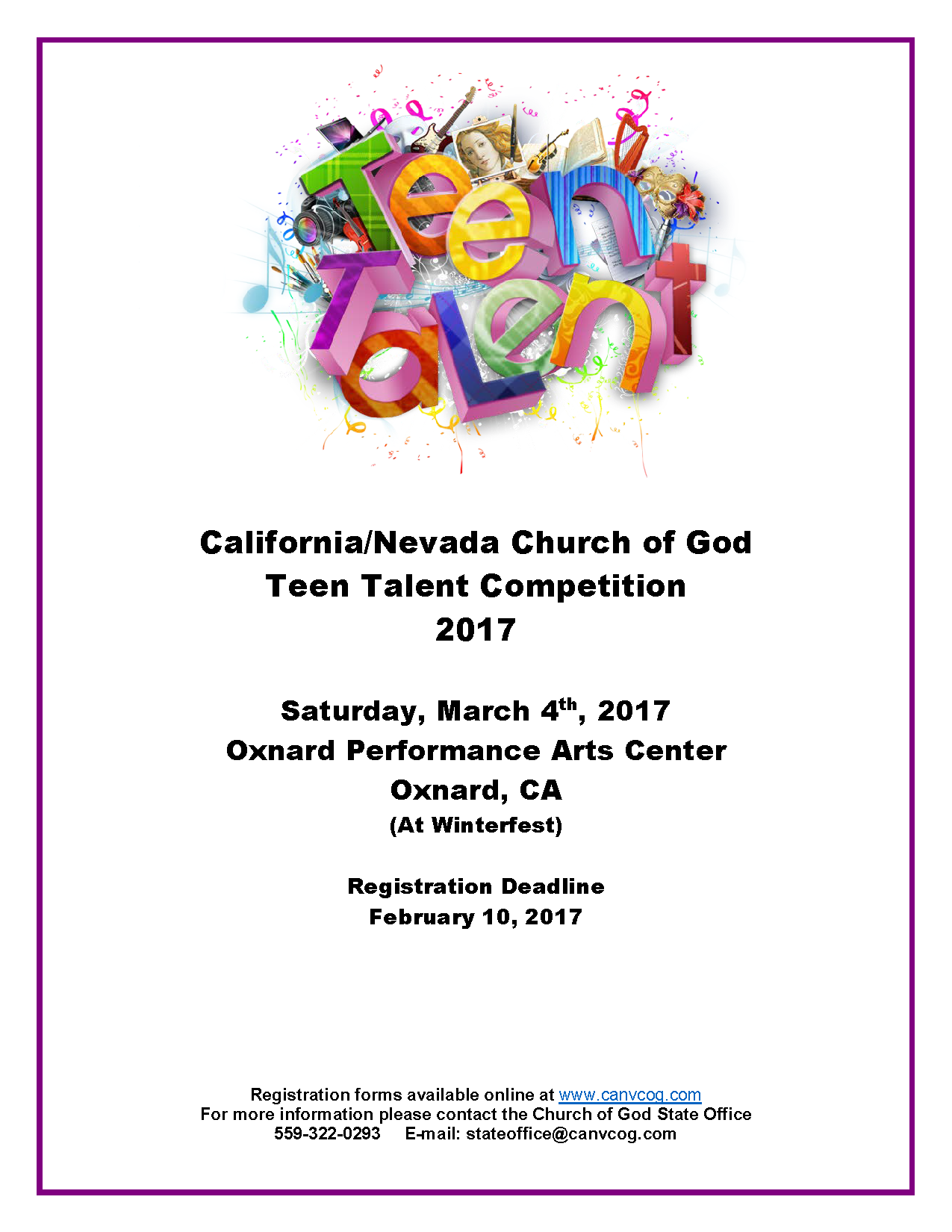 church of god teen talent