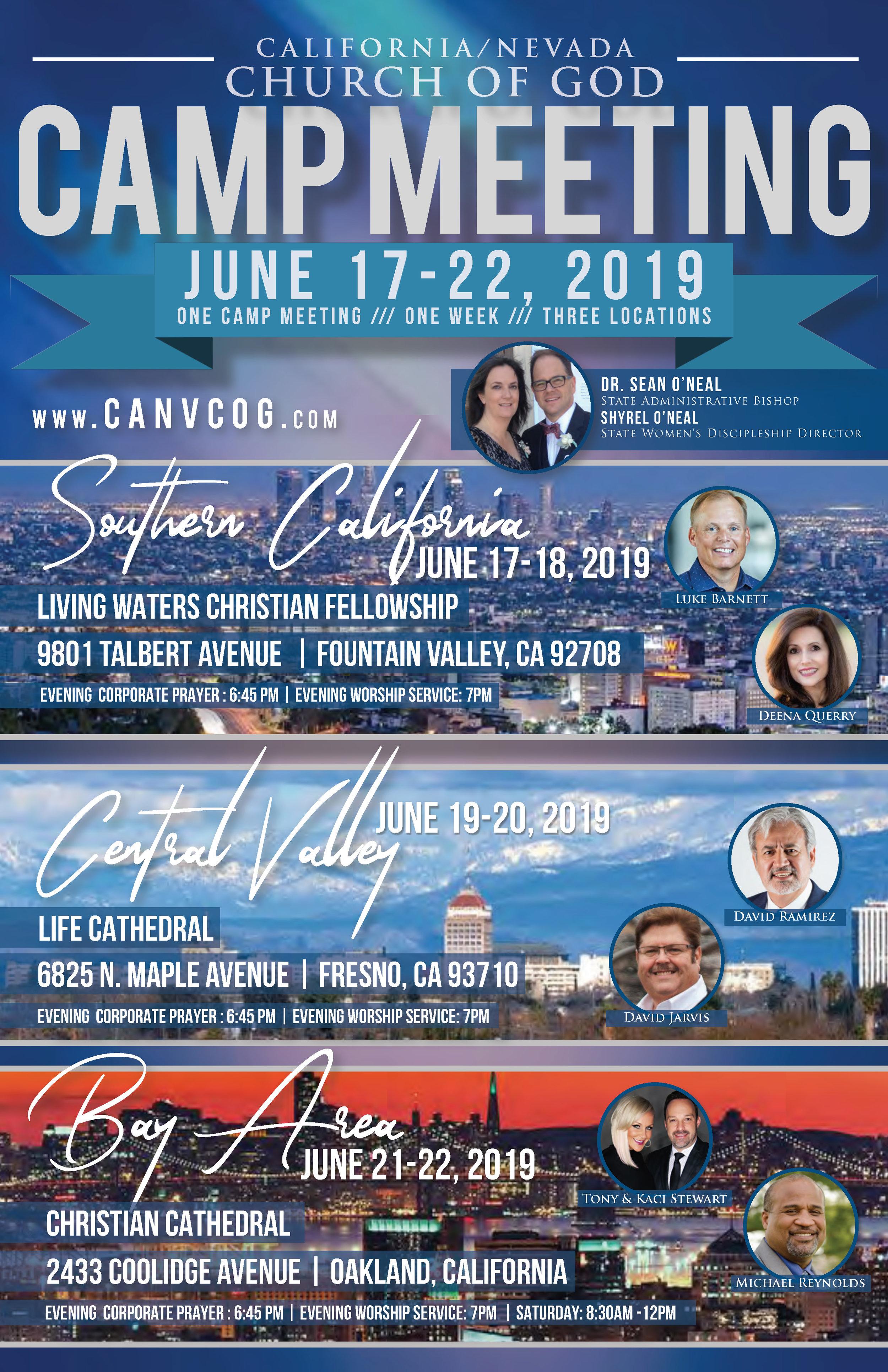 Events — California/Nevada Church of God