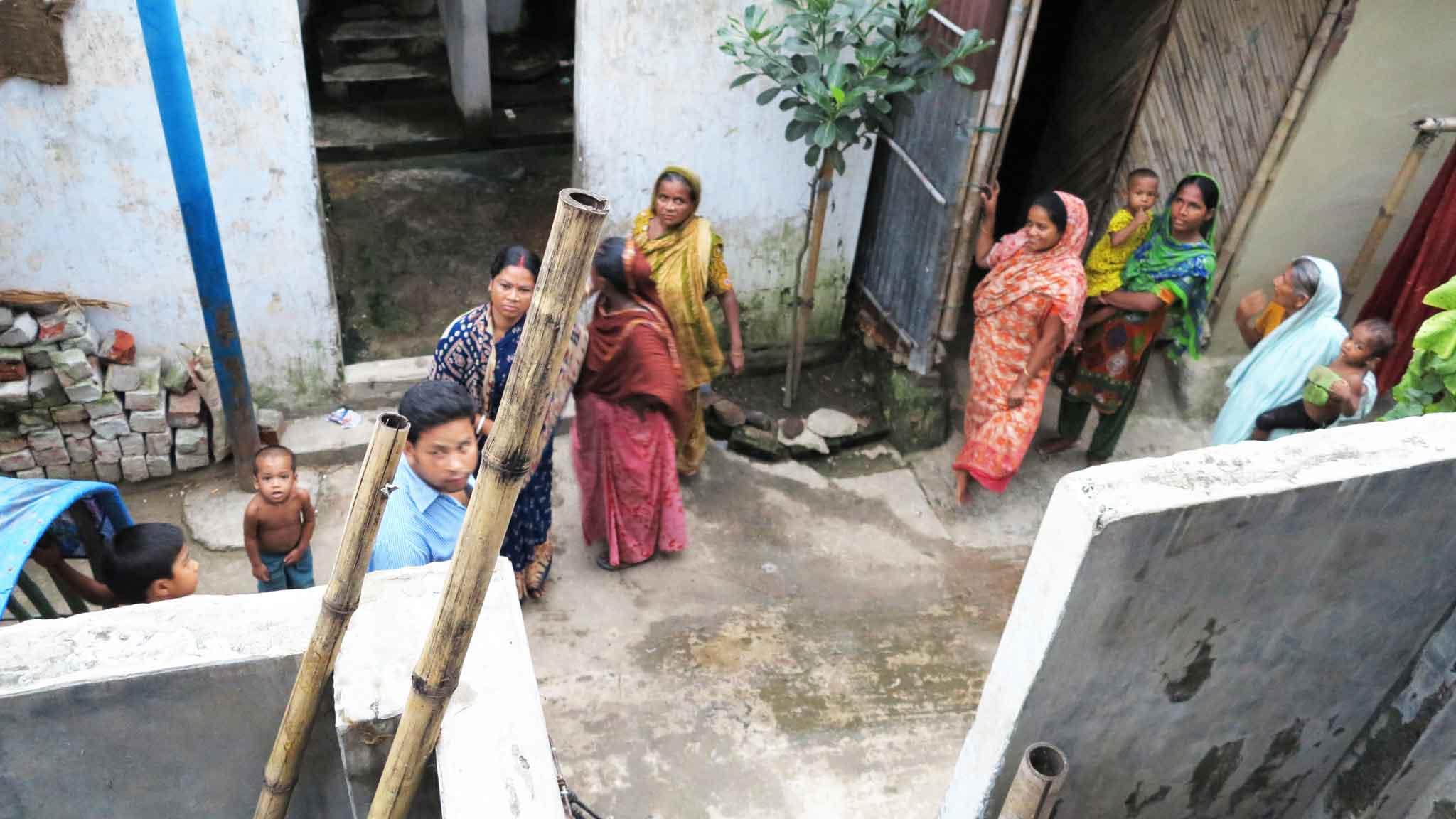 Jogen Babu Maath slum