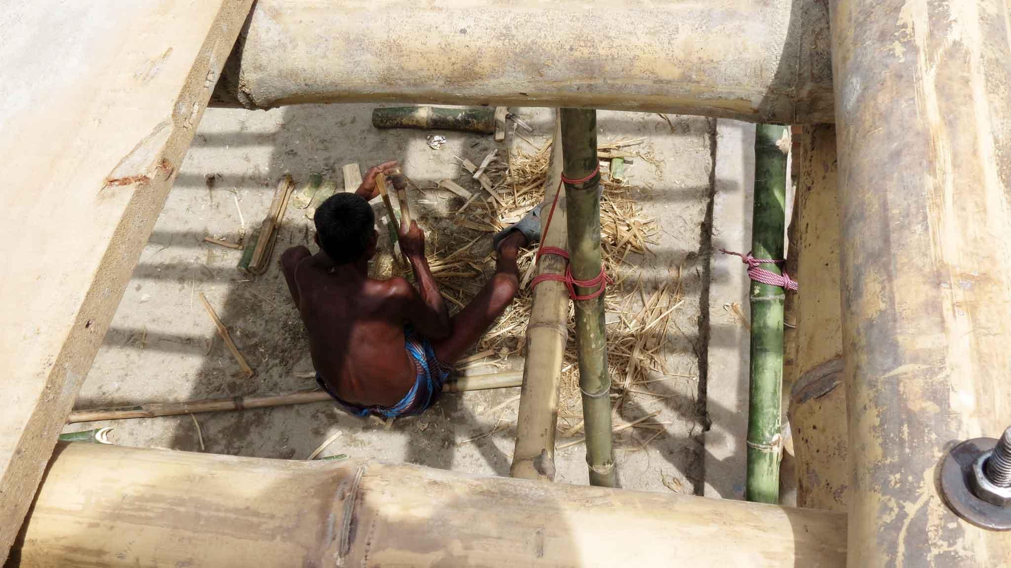 Bamboo artisan
