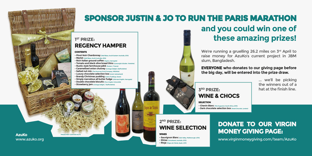 Sponsor and win prizes