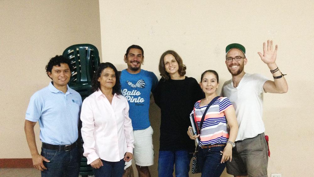 Working in Nicaragua
