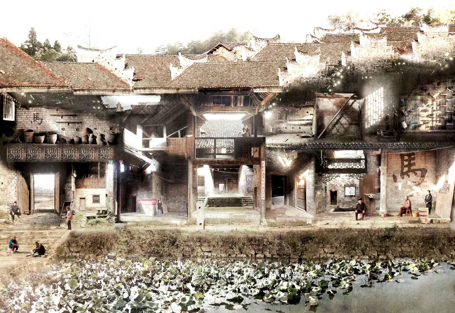 [ 6 ] Fairy Water Village Community Centre    ChenZhou, Fujian province   Info via  Google Drive >>  Info via  Pan.Baidu >>
