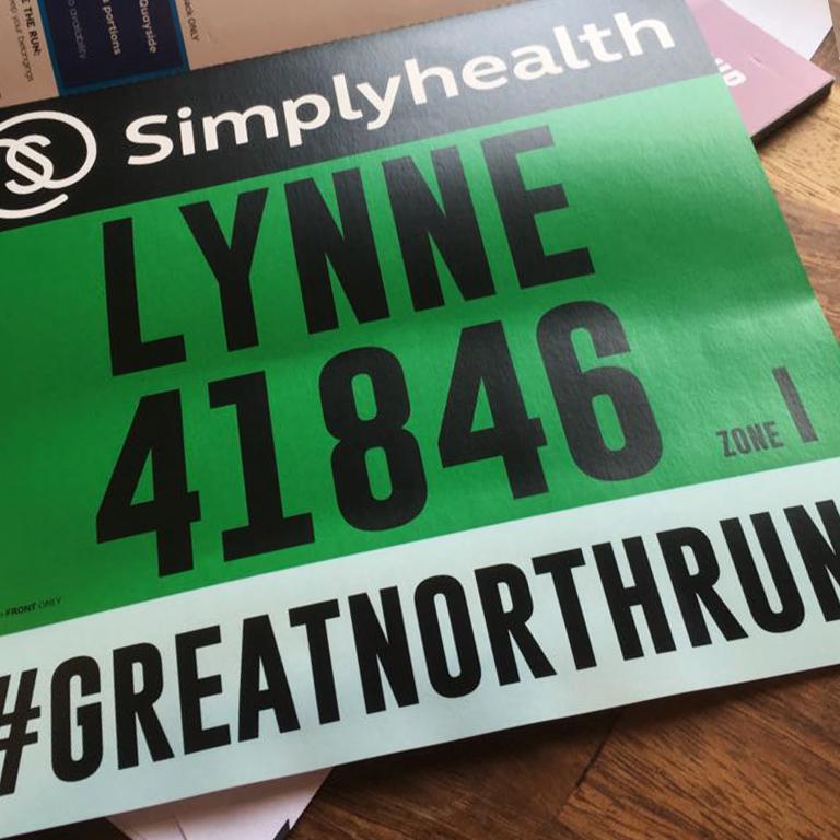Lynne's GNR bib no.: 41846