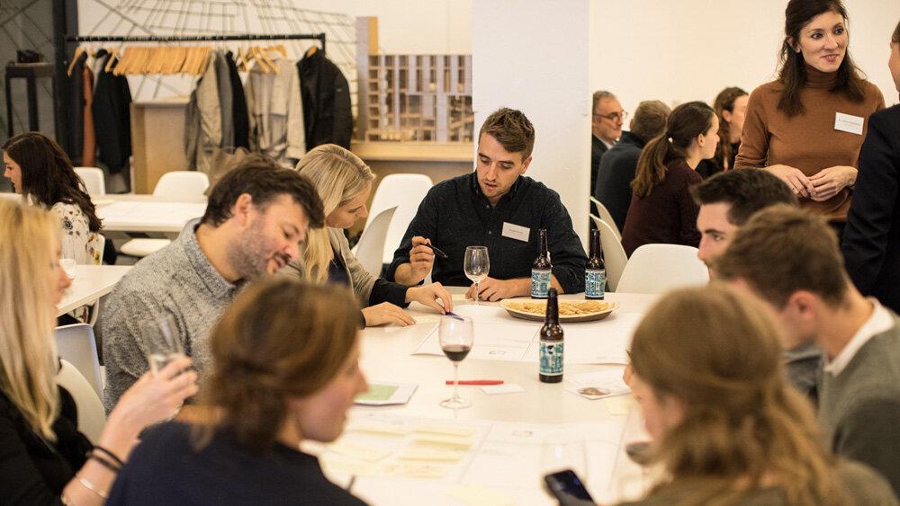 Designing Regenerative Spaces event - group brainstorming
