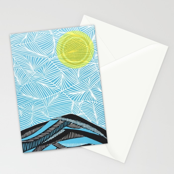 Mt. Tam Stationary Cards