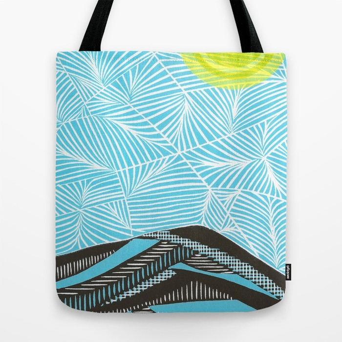 Mt. Tamalpais Tote Bag from Society6