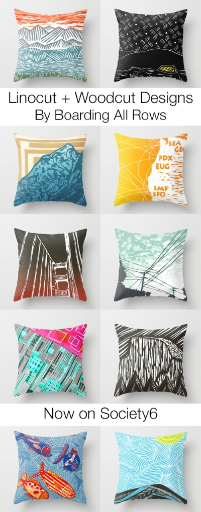 Square Throw Pillows and Covers on Society6