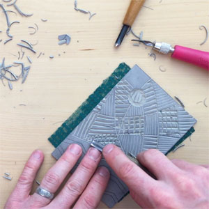 New  Linoleum Block Printing Course