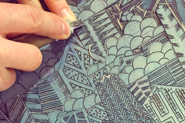 Relief Printing Carving Techniques