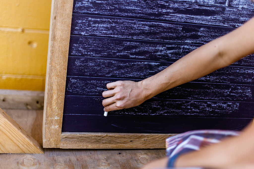 Prime Your Chalkboard