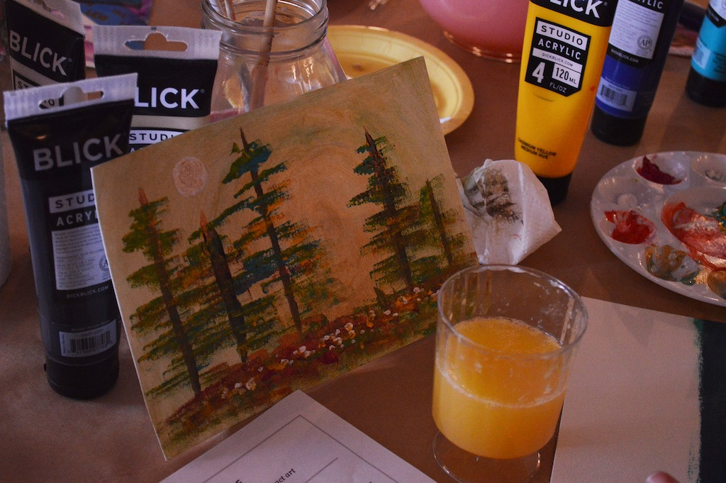 Kate's Trees and Mimosa.jpg