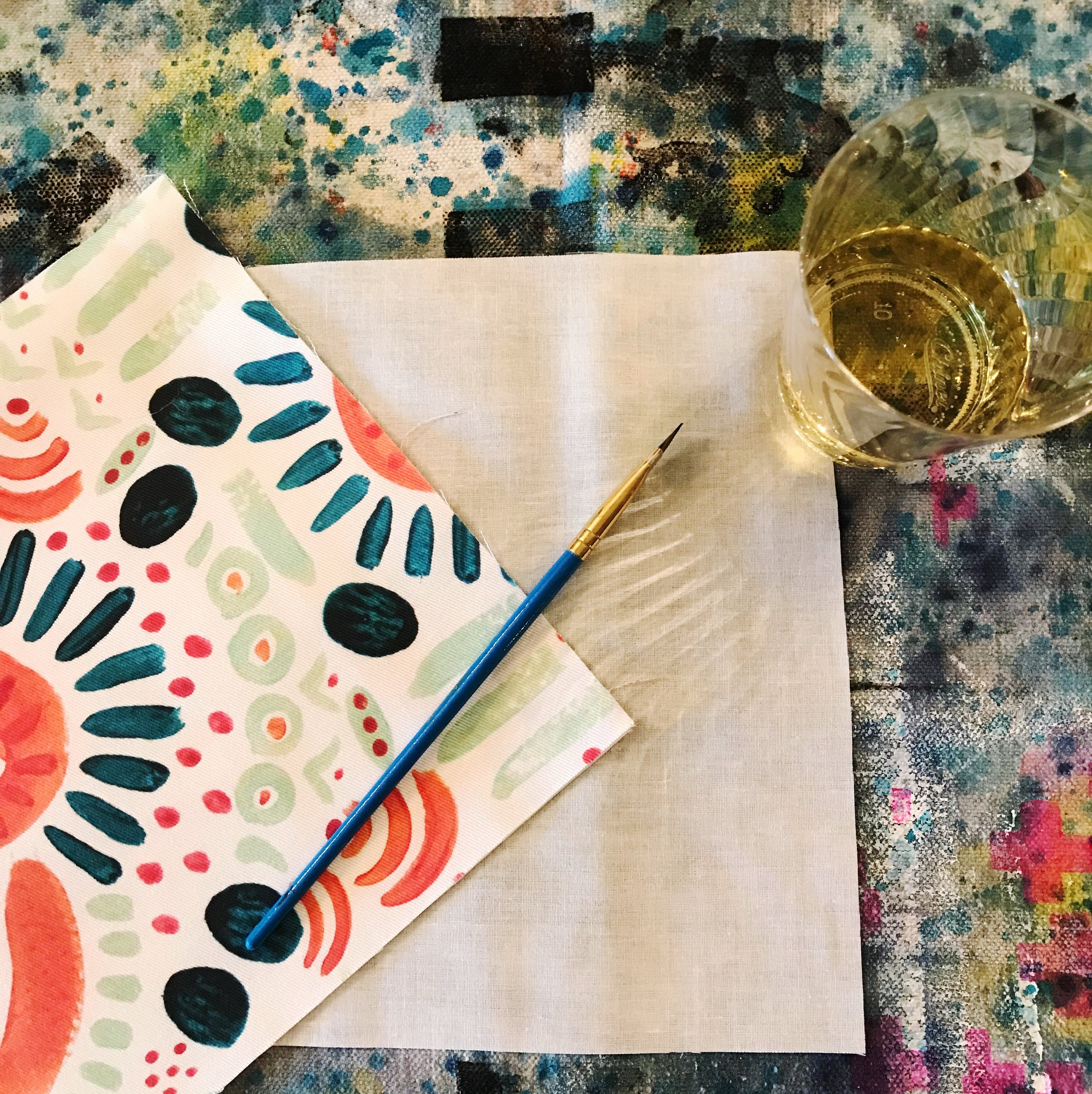 Textile Painting Class