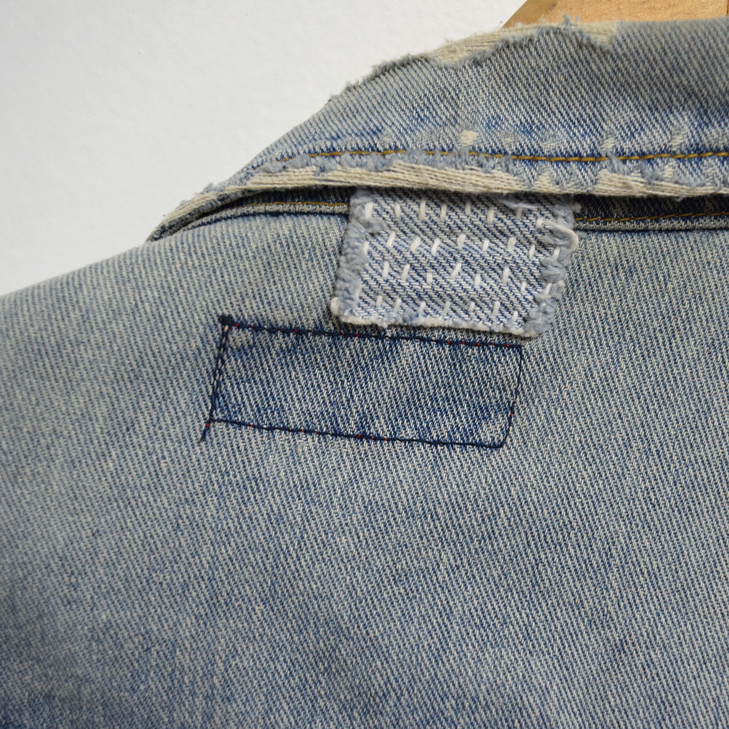 Sashiko: Wednesday, October 11.6-7:30pm - Bring your worn denim in for a little mending revival with sashiko, a traditional Japanese form of stitching that both mends and decorates clothing.