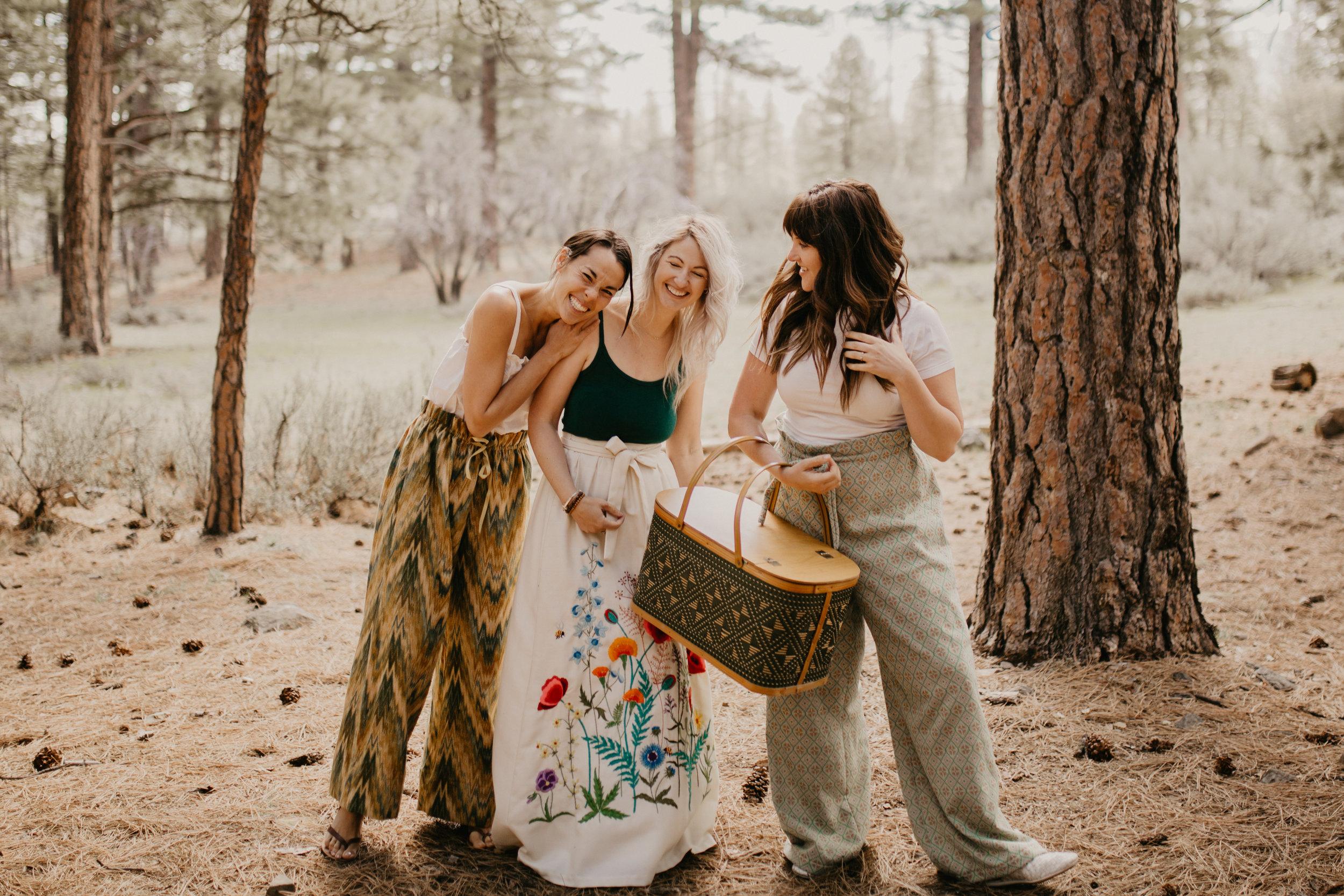 The Nest Vintage Picnic Girlfriends