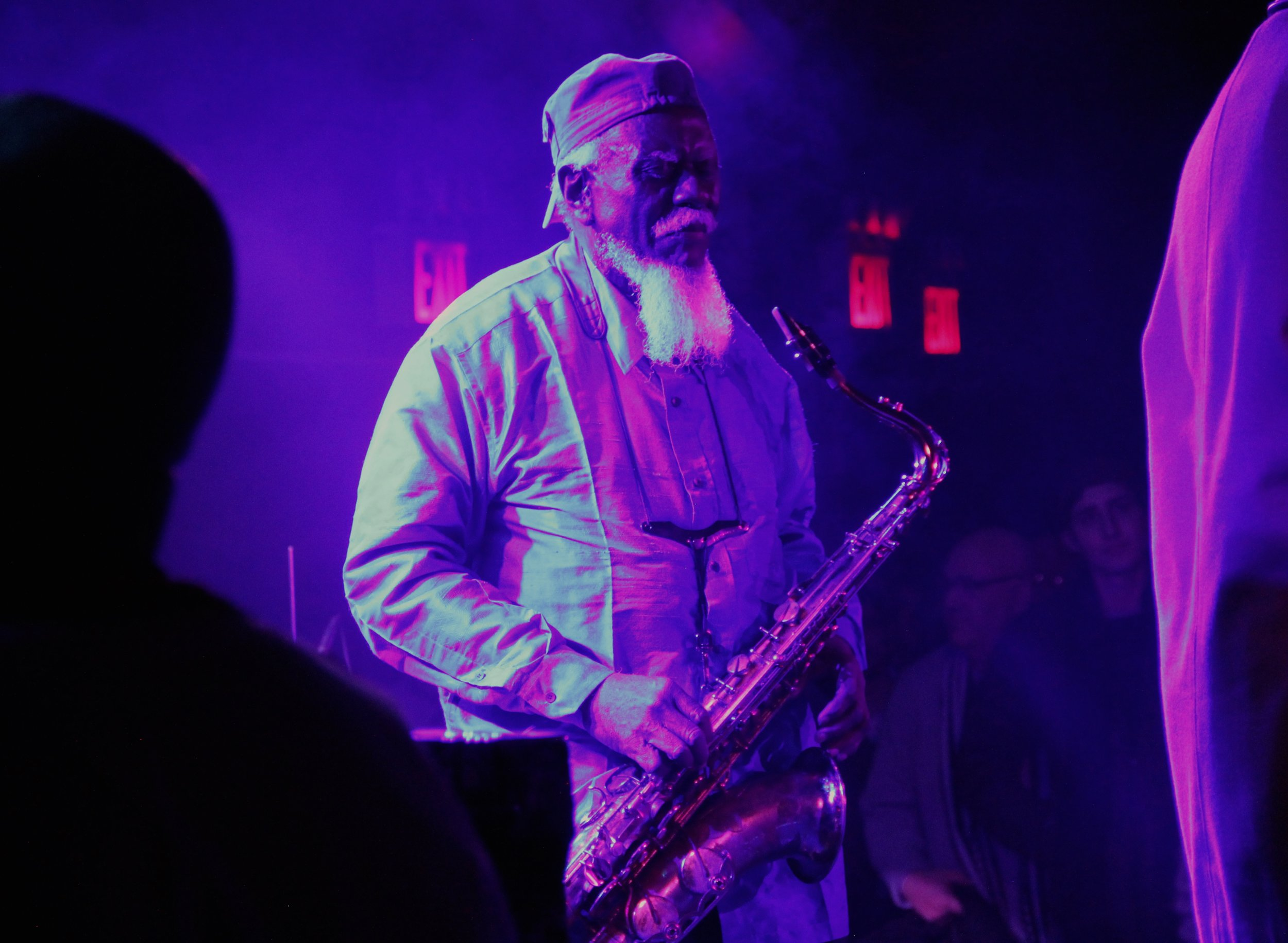 Photo by Eric Welles-Nystrom. Winter Jazz Fest at (Le) Poisson Rouge, New York City (January 5, 2017)