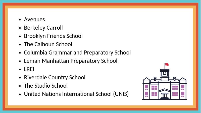 Independent School Lists