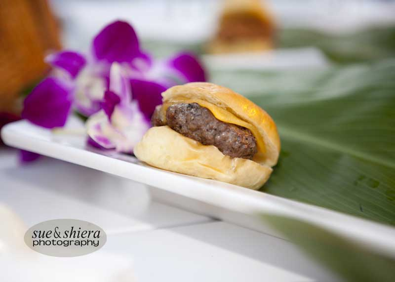 Traditional Beef Slider with Cheddar cheese and Caramelized onions
