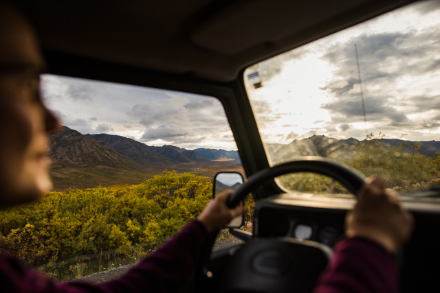 Staggering scenery, Dempster Highway, YT