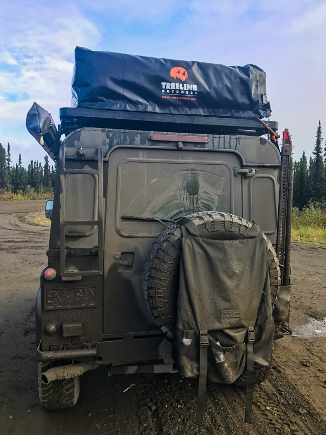 Classic mud on the Dempster Highway, YT