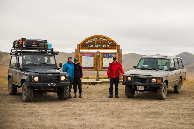 The Arctic Circle, Dempster Highway, YT