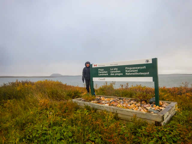 And the weather changed, western Canada's most northern National Park, Tuktoyaktuk, NWT