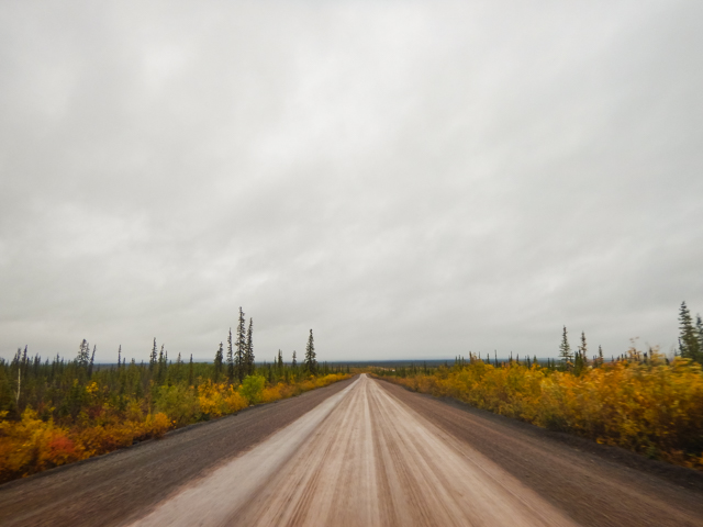 Heading south, Dempster Highway, NWT