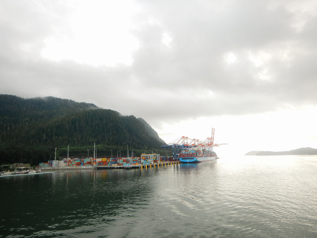 Fairview Container Terminal, Prince Rupert, BC