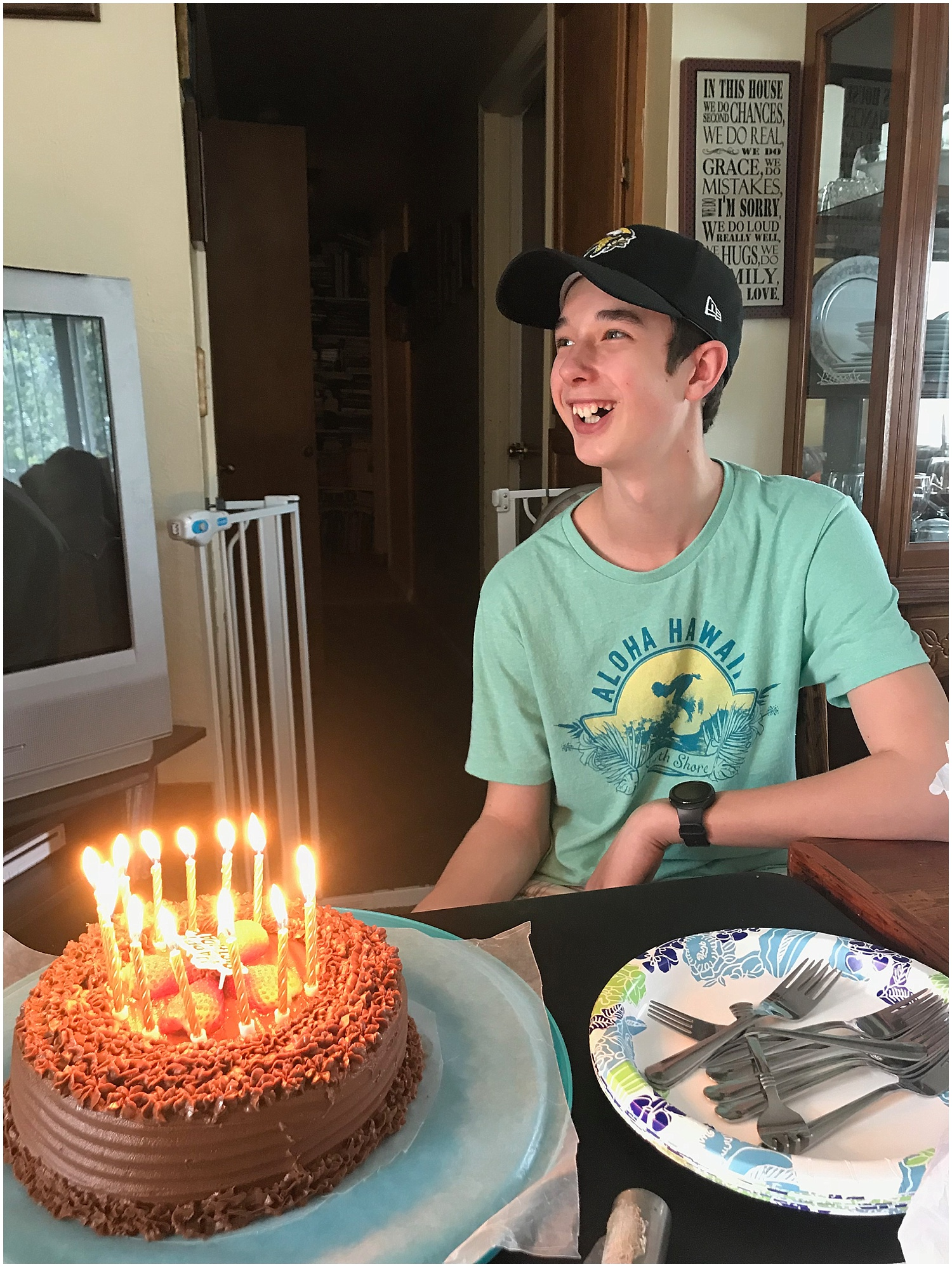celebrated my nephews 14th bday… wow time goes by fast!