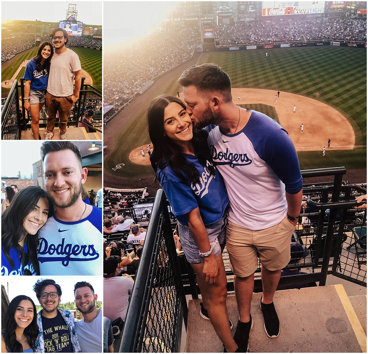 and he took me to my first MLB game, ry's been before but this was all new to me. so much fun… and the dodgers won, WOO