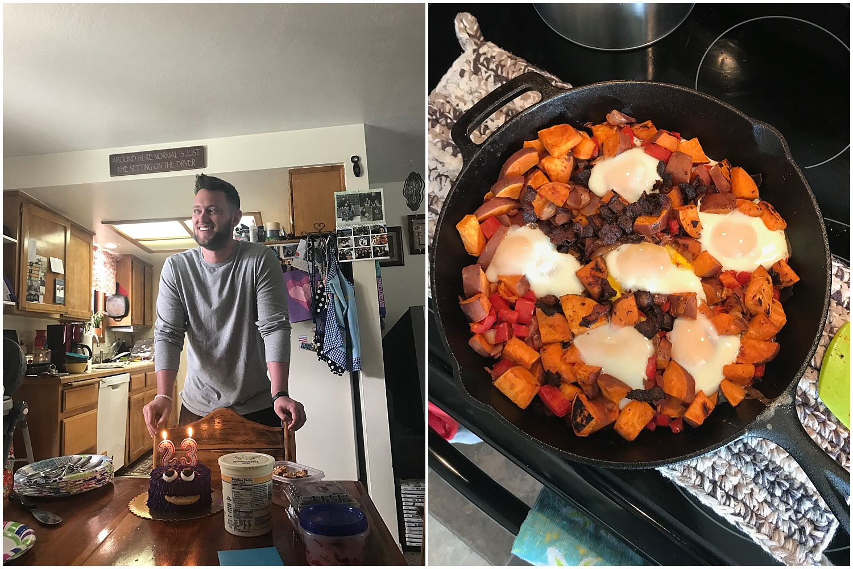 ryan turned 23 and I made him breakfast!!! woooo