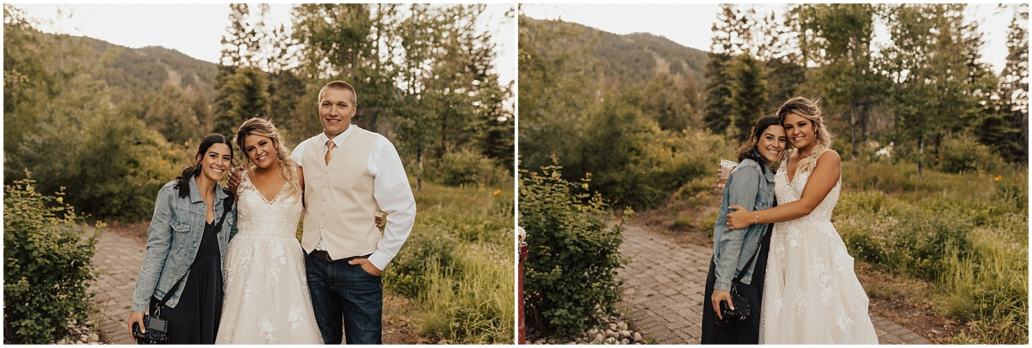 I shot this gorgeous wedding tucked up in the mountains, seriously how gorgeous is Mal?