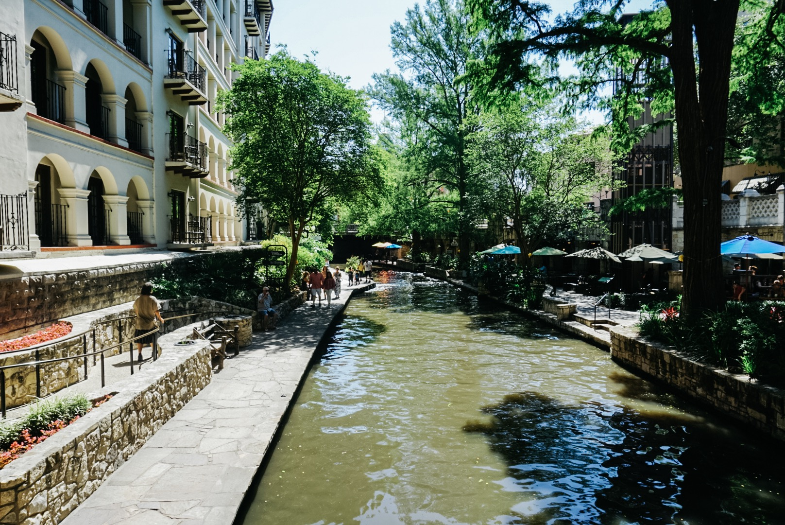 The River Walk -- this photo really belongs in the last vlog post, but what the heck let's just include it here.