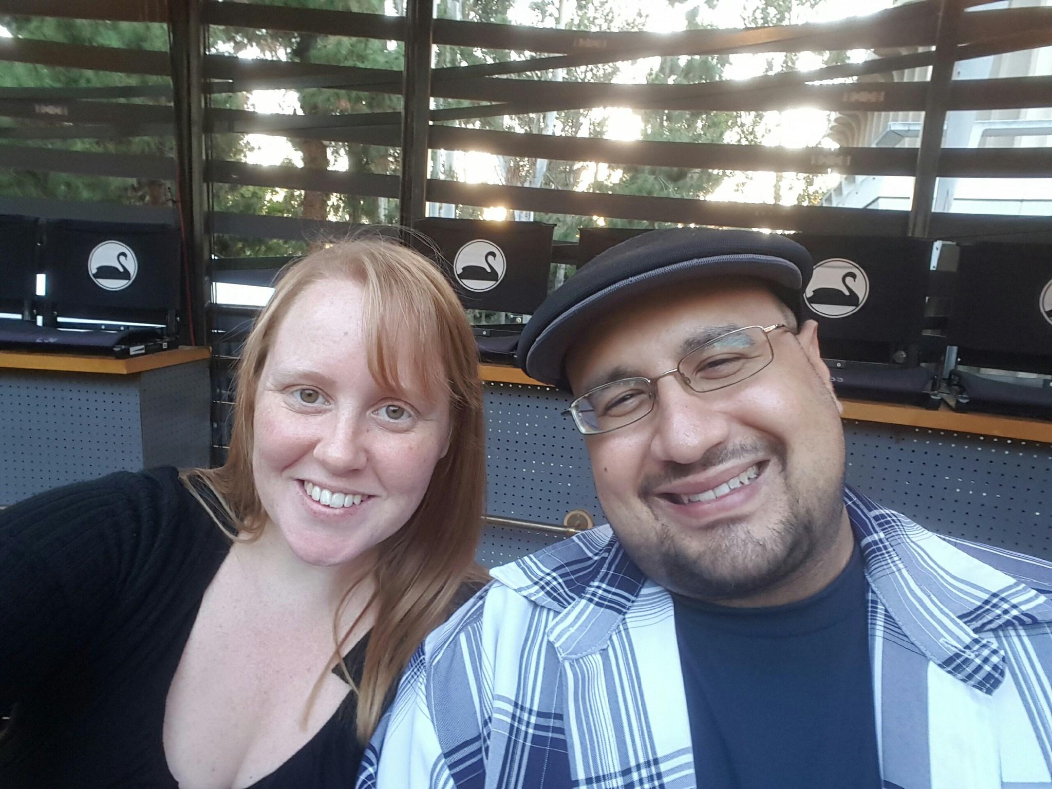 Professor Horn and his wife, Lauren